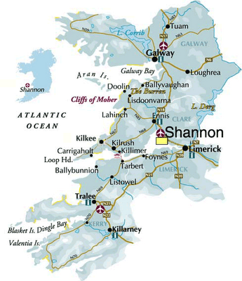 Galway to shannon