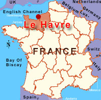 Map Of France Le Havre.Www Eurosis Org Cms Files Location Lehavre France